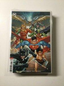 Justice League 22 Variant Near Mint Dc Comics HPA
