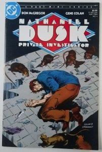 Nathaniel Dusk Private Investigator 1984 Complete Run 1,2,3 & 4 DC High Grade