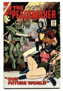 The Peacemaker #3 1967--Pat Boyette art-High Grade-Charlton-VF/NM