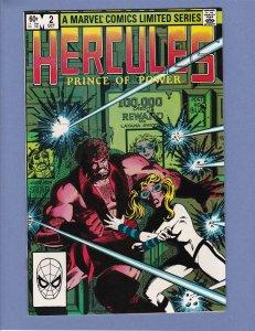 Hercules Prince of Power #2 NM 1982