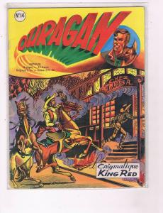 Ouragan Mensuel #14 VG/FN King Red Comic Book DE6