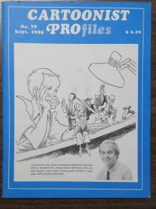 Cartoonist Profiles No. 79 September 1988 Feat. Doug Marlette Gary Trudeau ++