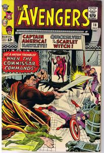 AVENGERS #18, VF+, Captain America,1963, Scarlet Witch, more in store
