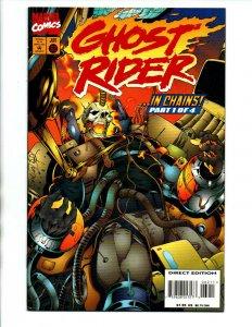 Ghost Rider #62 - 1995 - Low Print run - NM