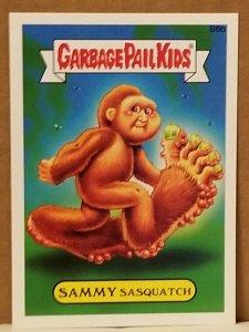 2015 Garbage Pail Kids #B6b Sammy Sasquatch