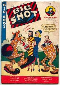 BIG SHOT #67 1946- Skyman- Charlie Chan- Joe Palooka VG+