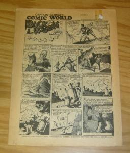 Captain George's Comic World #6 VG classic buck rogers reprint - whizzbang