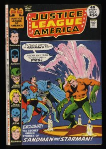 Justice League Of America #94 VF 8.0 DC Comics 1st Merlyn!