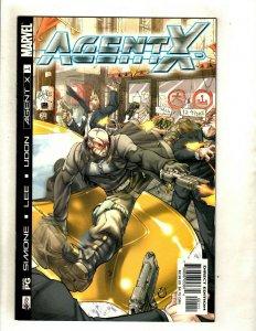 Lot Of 7 Agent X Marvel Comic Books # 1 2 3 4 5 6 7 Deadpool X-Men Cable RP6