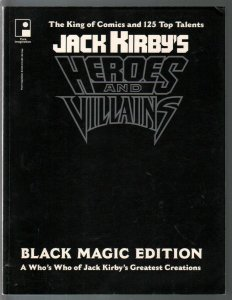 Jack Kirby's Heroes and Villains 1984-280 pages of art by Jack Kirby-FN/VF
