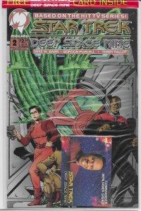 Star Trek: Deep Space Nine (vol. 1, 1993) # 2 (sealed) VF/NM Sisko card