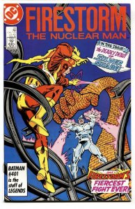FURY OF FIRESTORM #53 1986-First appearance of the SILVER SHADE