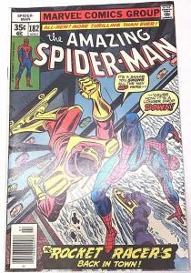 AMAZING SPIDER-MAN#182 FN/VF 1978 MARVEL BRONZE AGE  COMICS