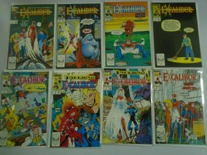 Excalibur lot 50 different from #1-64 8.0 VF (1988-93 1st Series)