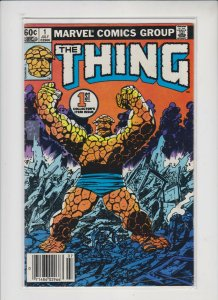 THE THING #1 1983 MARVEL / NEWSSTAND /  VF-/+ QUALITY