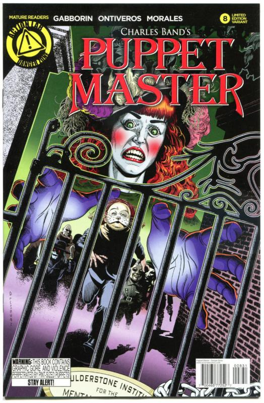 PUPPET MASTER #8, NM, Bloody Mess, 2015, Dolls, Killers, more HORROR  in store,C