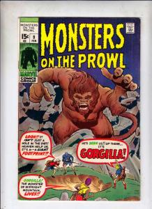 Monsters on the Prowl #9 (Feb-72) VF/NM High-Grade