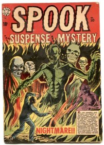 Spook Comics #30 1954- LB COLE horror cover- VG-