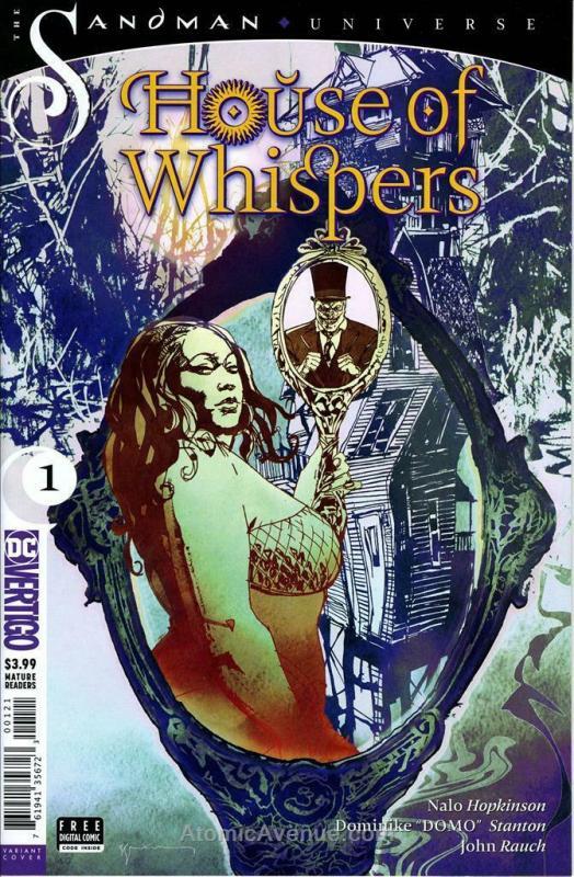 House of Whispers #1A VF/NM; DC/Vertigo | save on shipping - details inside