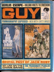 Guy 4/1967-Jack Ruby's Brytal Past-Chain Gang Life-cheesecake-FR