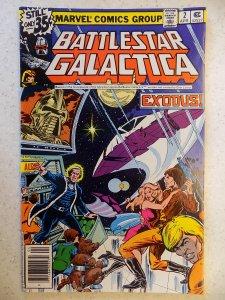 BATTLESTAR GALACTICA # 2 MARVEL SCI-FI TV ADVENTURE SPACE