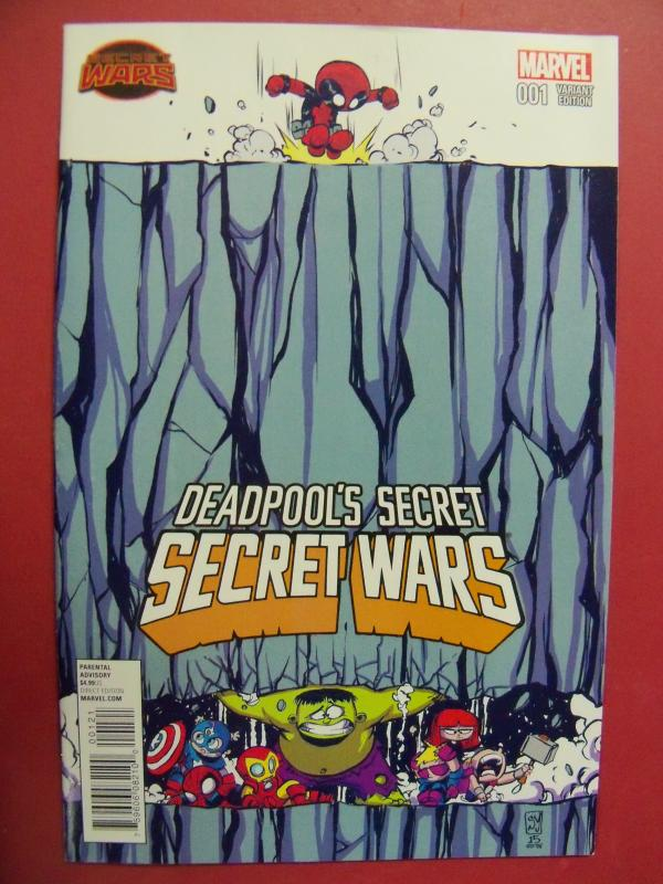 DEADPOOL'S SECRET,  SECRET WARS, #1,  SKOTTIE YOUNG VARIANT COVER