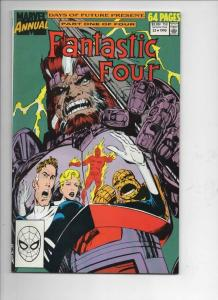 FANTASTIC FOUR #23 Annual, VF/NM, Days of Future Present, 1961 1990, Marvel
