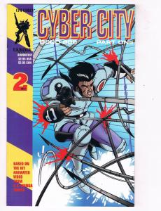 Cyber City Part 1 (1995) #2 CPM Comic Book Manga OEDO 808 HH4 AD38