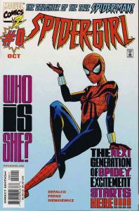 Spider-Girl #0 VF/NM; Marvel   save on shipping - details inside