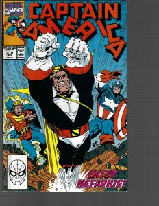 Captain America #379 (Marvel, 1990) VF+