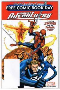MARVEL ADVENTURES, NM+, Spider-man, FF, Ditko, FCBD, 2005, more in store