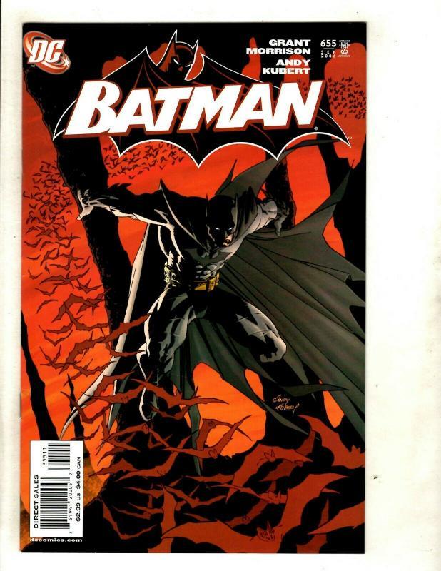 Batman # 655 NM 1st Print DC Comic Book Joker Robin Catwoman Harley Quinn SM8