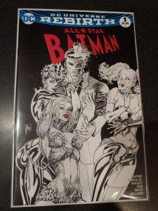 ALL STAR BATMAN #1 COMICXPOSURE GUILLEM MARCH B&W EXCLUSIVE