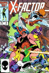 X-Factor (1986 series) #9, VF+ (Stock photo)