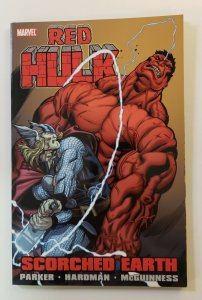 RED HULK SCORCHED EARTH TPB SOFT COVER GRAPHIC NOVEL NM