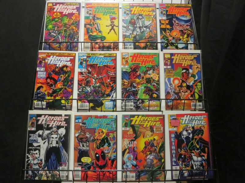 HEROES FOR HIRE (1997)  1-19  Iron Fist & Luke Cage