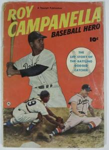 ROY CAMPANELLA, BASEBALL HERO (Fawcett, 1950) (GOOD MINUS)  Photo Cover!