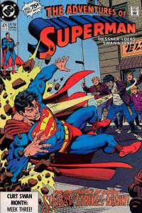 Adventures of Superman (1987 series) #471, NM (Stock photo)