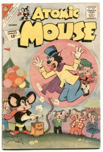 Atomic Mouse #51 1962-Charlton funny animals VG