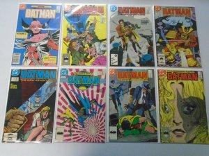 Batman comic lot 20 different from #401-449 avg 8.0 VF (1986-90)