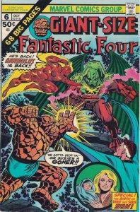 Giant-Size Fantastic Four #6 (ungraded) stock photo / 001