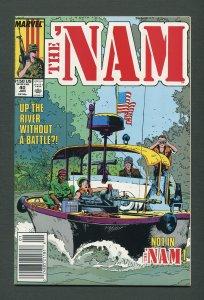 The Nam #40   /  9.4 NM   /  Newsstand / January 1990