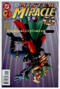 MISTER MIRACLE #1, NM, Kevin Dooley, Crespo, 1996, more DC in store