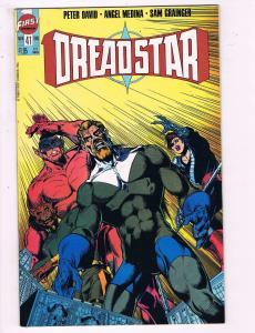 Dreadstar #41 VF First Comics Comic Book David 1986 DE13