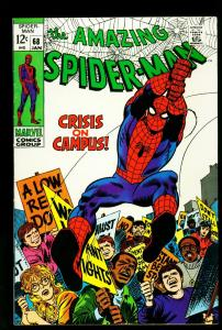 Amazing Spider-man #68 1968- Vulture appearance- Marvel-  VF/NM