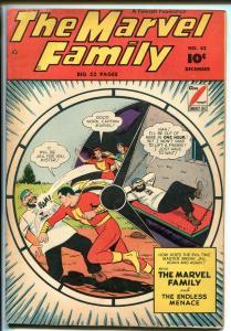 MARVEL FAMILY #42 1949-FAWCETT-CAPT MARVEL-MARY MARVEL-CAPT MARVEL JR-vg