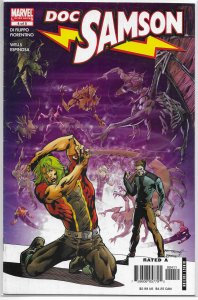 Doc Samson (vol. 2, 2006) #4 of 5 VG Di Filippo/Fiorentino