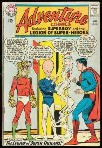 ADVENTURE COMICS #324-SUPERBOY- SUPER-OUTLAWS TIGER -very good VG