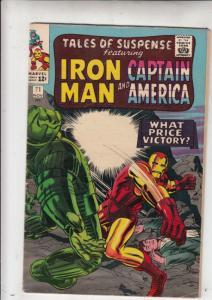 Tales of Suspense #71 (Nov-65) FN/VF Mid-High-Grade Iron Man, Captain America...