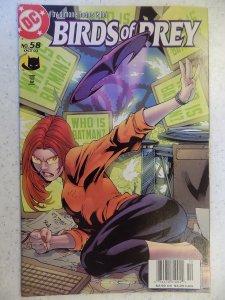 Birds of Prey #58 (2003)